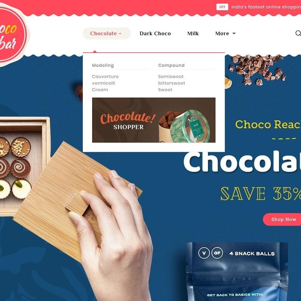 theme - Подарки, Цветы и праздничные товары - Chocobar & Sweets - 8