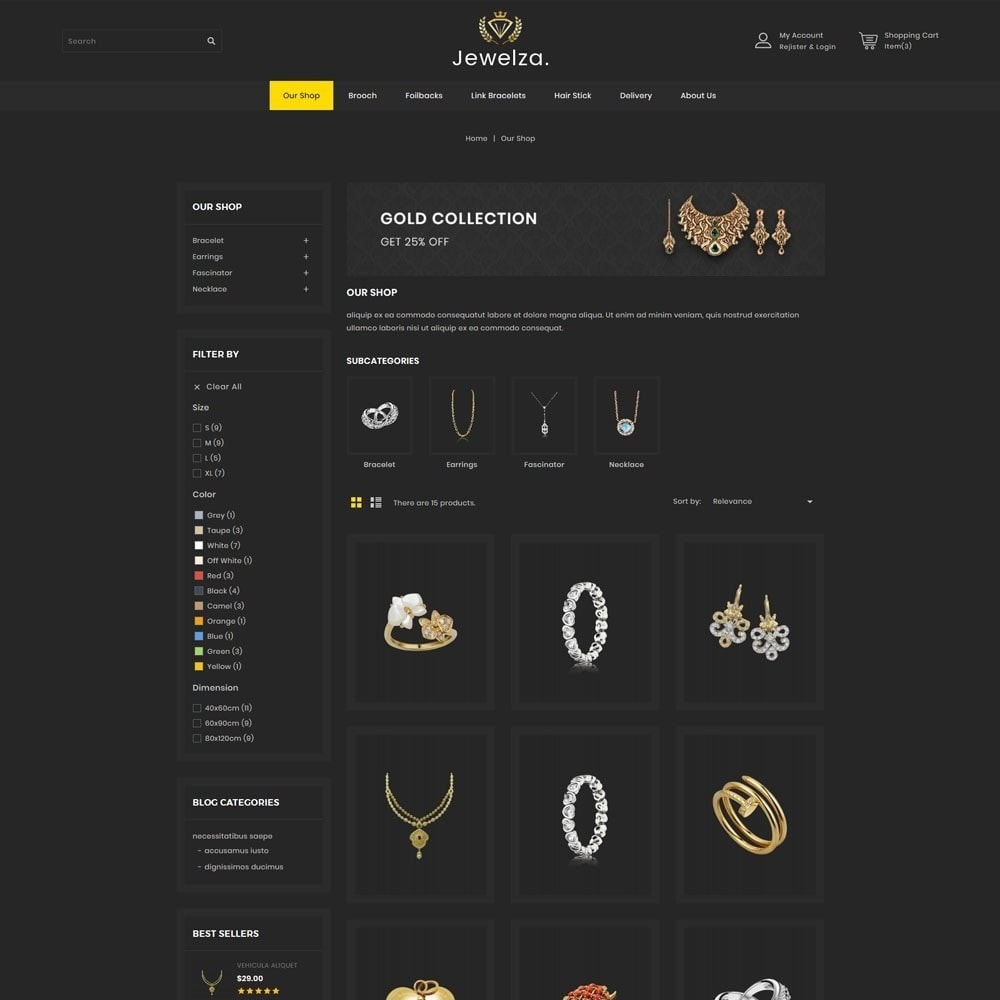 theme - Joalheria & Acessórios - Jewelza - The Jewelry Store - 4
