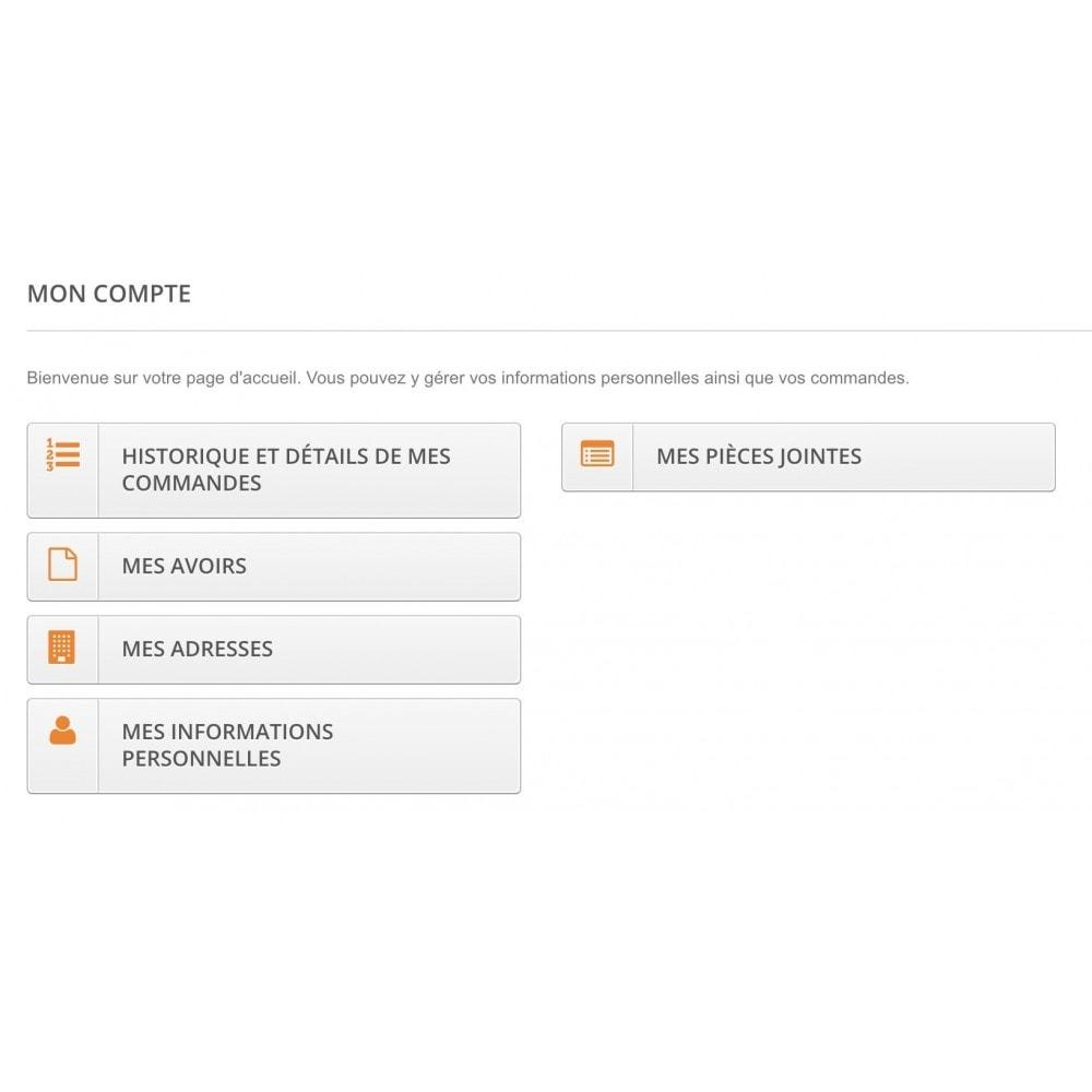 module - Service Client - Envoi de pièces jointes (commandes, clients) - 3