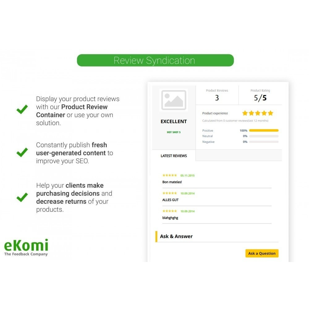 module - Customer Reviews - eKomi Ratings & Reviews - 5