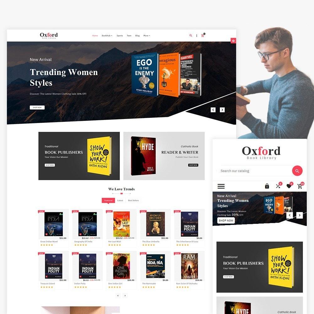 theme - Ювелирные изделия и Аксессуары - Oxford - Book Store - 1