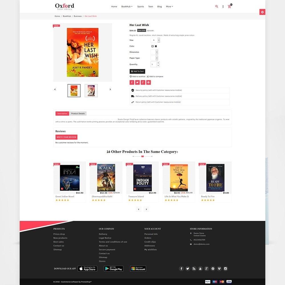 theme - Ювелирные изделия и Аксессуары - Oxford - Book Store - 5