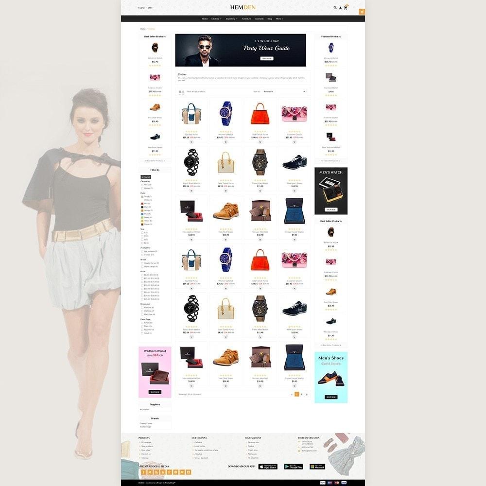 theme - Fashion & Shoes - HemDen - The Fashion Store - 3