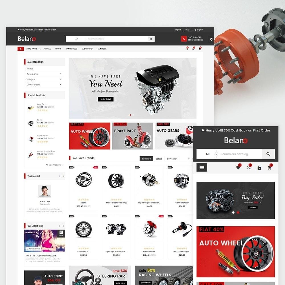theme - Automotive & Cars - Belano - AutoPart Super Store v3 - 2