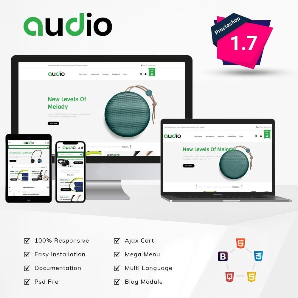 theme - Electronics & Computers - Audio Headphone Store - 1