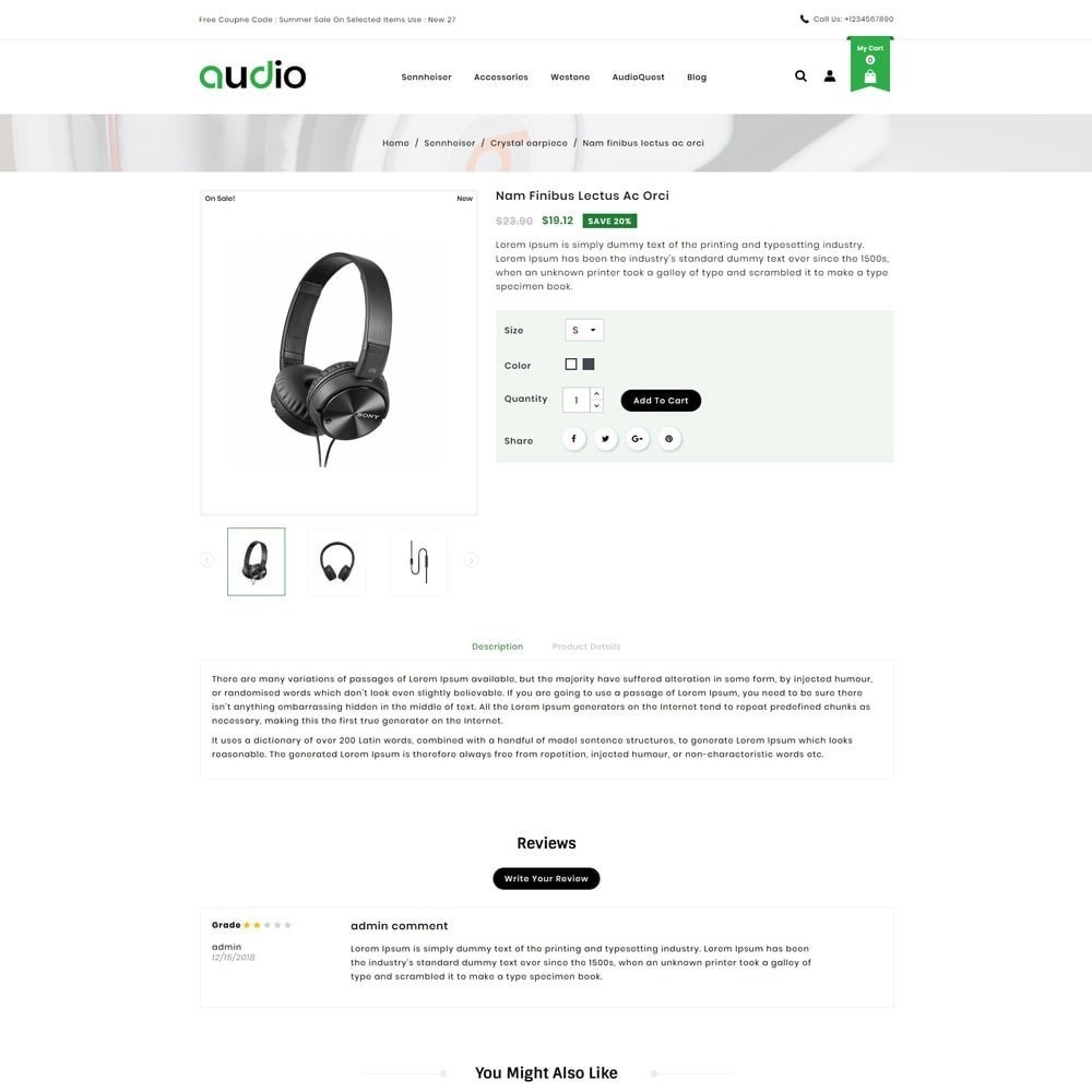 theme - Electronics & Computers - Audio Headphone Store - 4