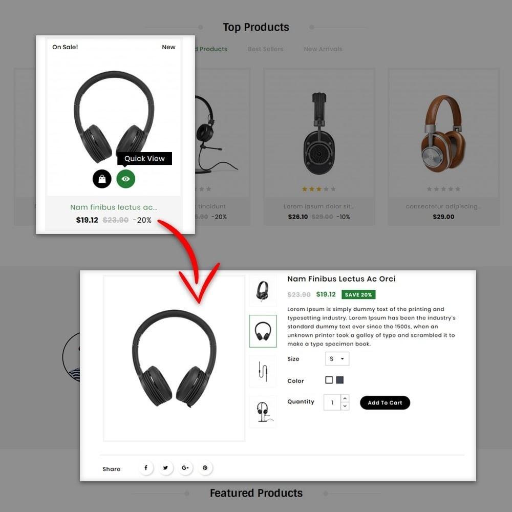 theme - Electronics & Computers - Audio Headphone Store - 6