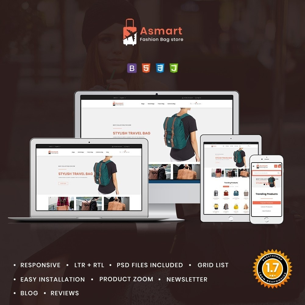 theme - Jewelry & Accessories - Asmart Bag Shop - 1