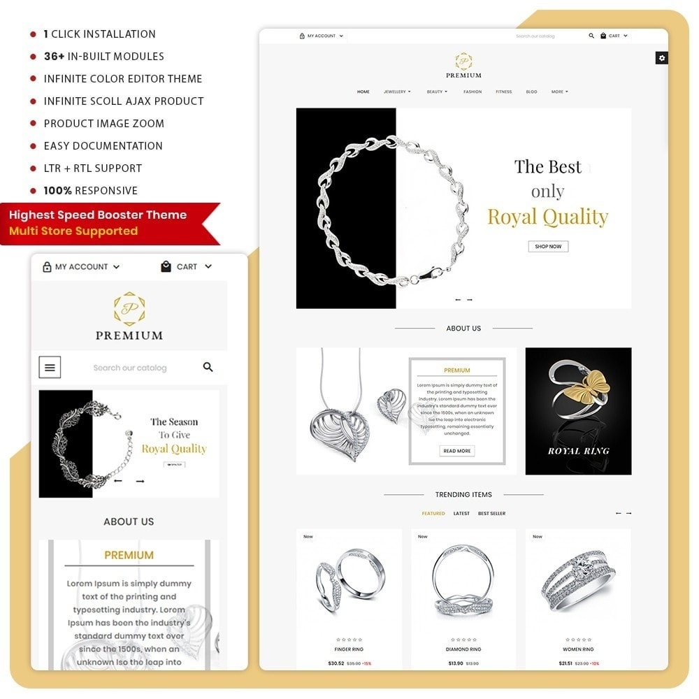 theme - Jewelry & Accessories - Premium Jewellery Store - 1
