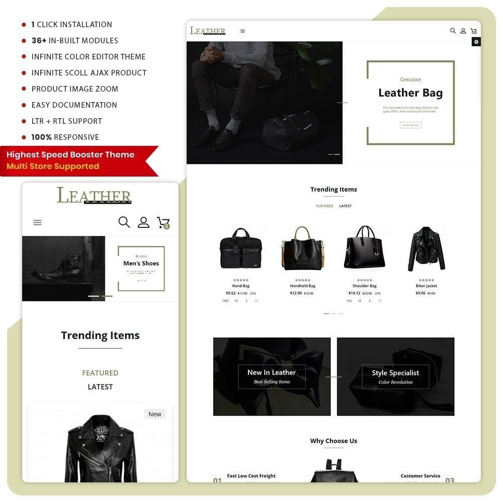theme - Fashion & Shoes - Sac -  Leather Bag Super Store - 1