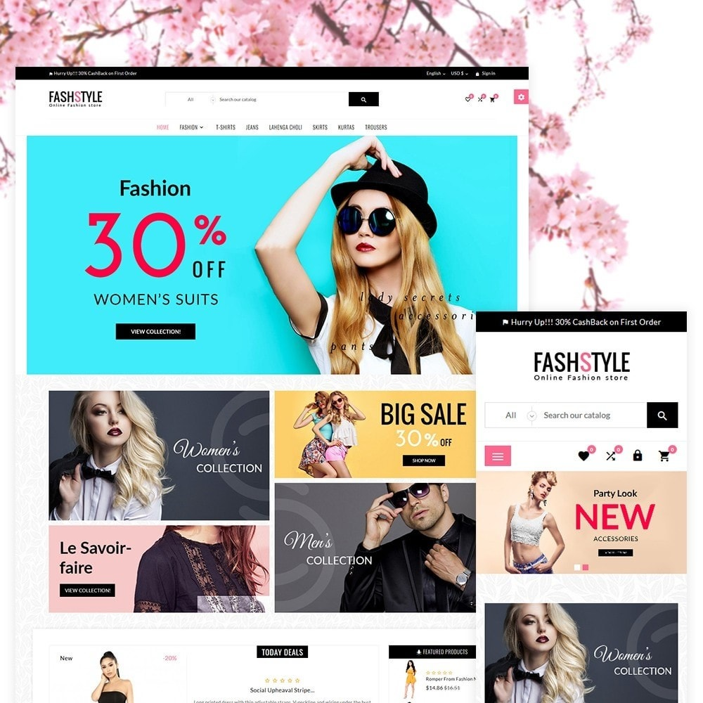 theme - Mode & Schoenen - Fash Style – Fashion and Stylish Super Store - 2