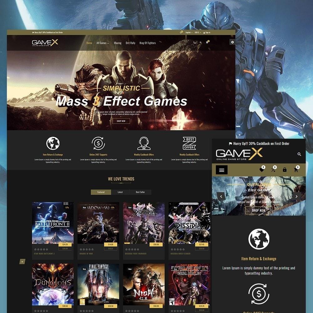 theme - Sport, Activiteiten & Reizen - GameX Game and Play Super Sports Store - 1