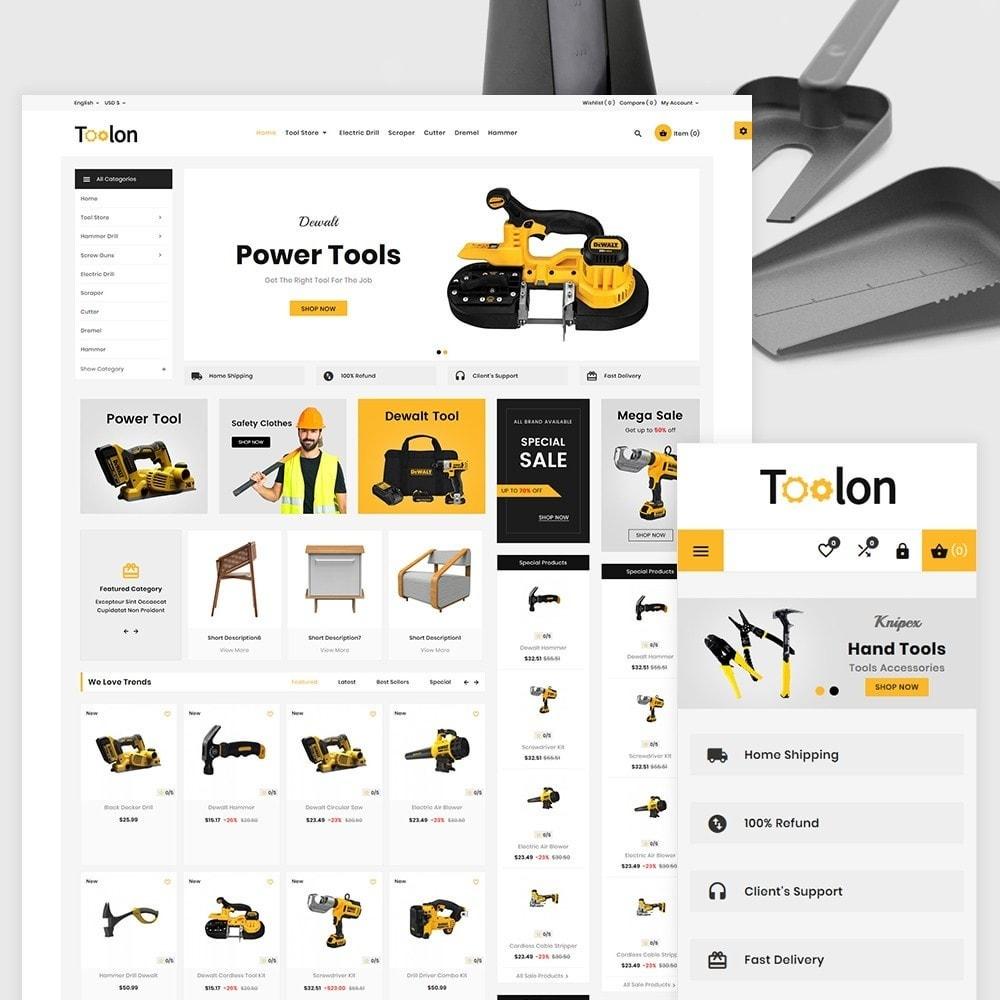 theme - Automotive & Cars - Toolen Mega Tools Super Store - 2
