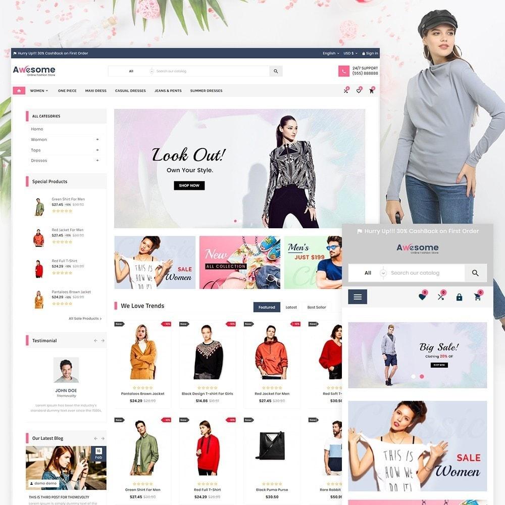 theme - Moda & Obuwie - Awesome High Status Fashion Super Store v3 - 2