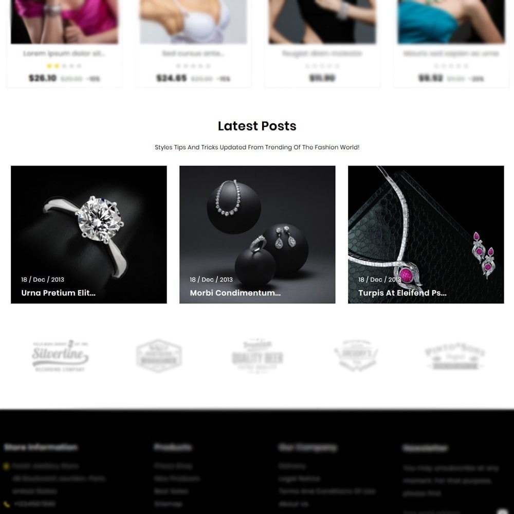 theme - Jewelry & Accessories - Foreli Jewellery Store - 9