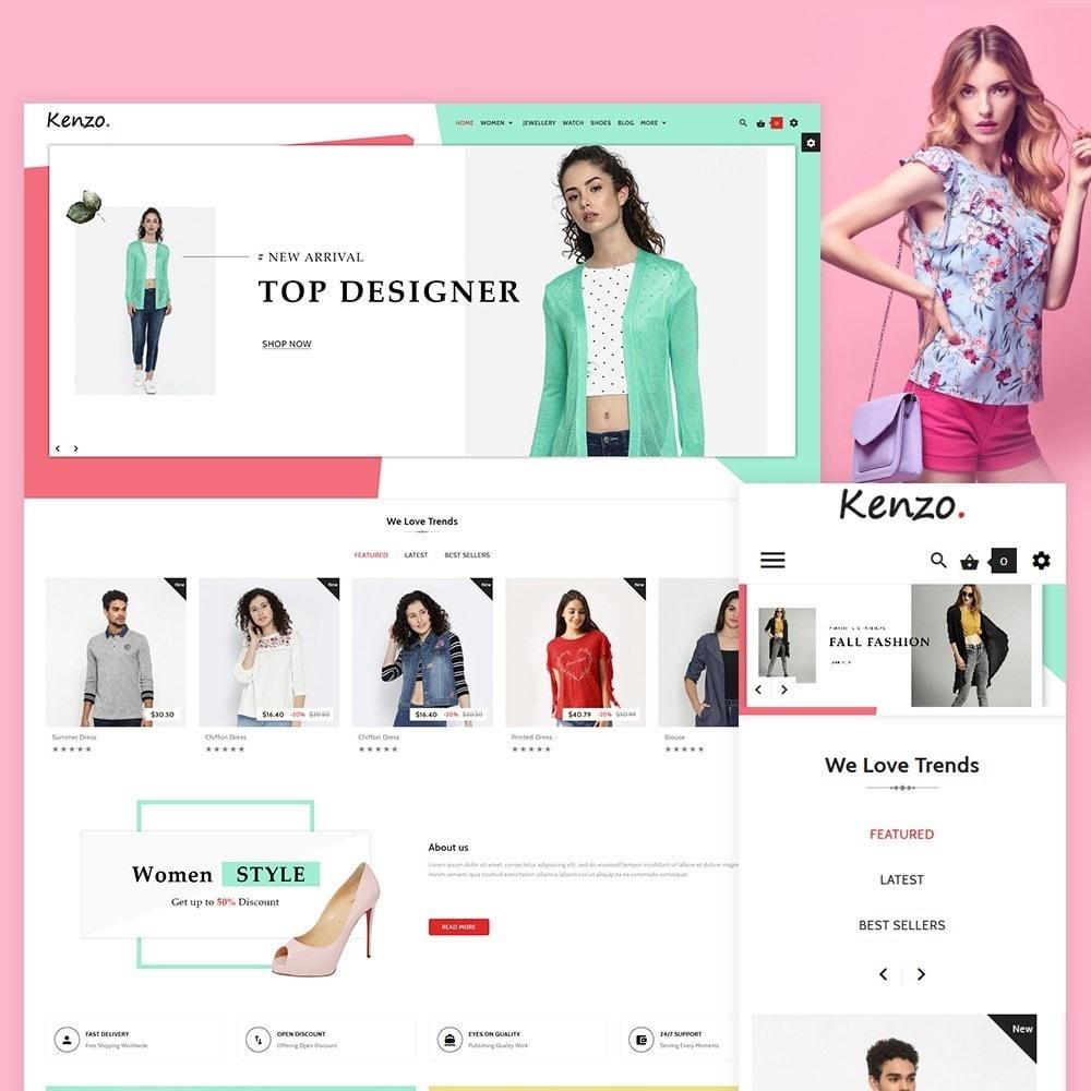 theme - Fashion & Shoes - Kenzo Stylo Fashion Shop - 2