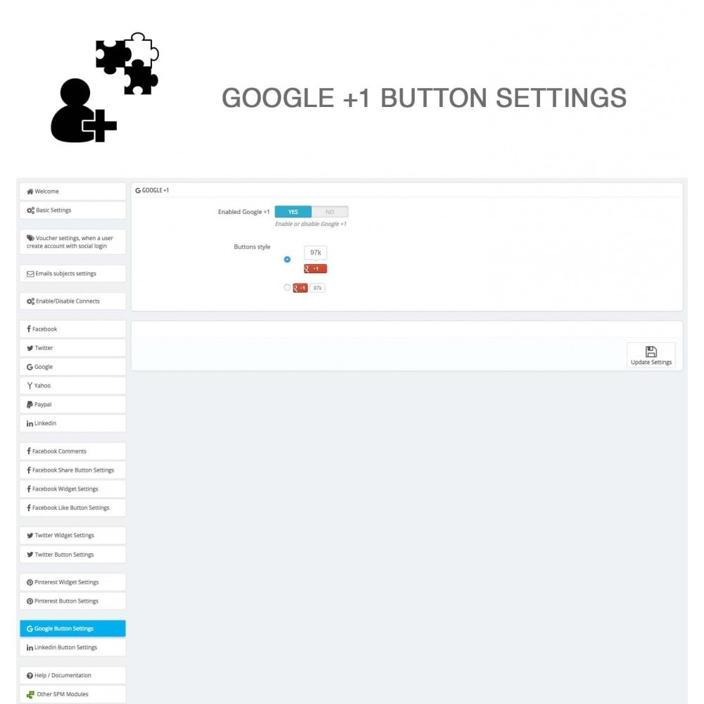module - Share Buttons & Comments - Social Logins and Coupons + Addons + Statistics 16 in 1 - 36