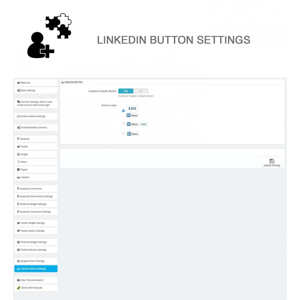 module - Share Buttons & Comments - Social Logins and Coupons + Addons + Statistics 16 in 1 - 37