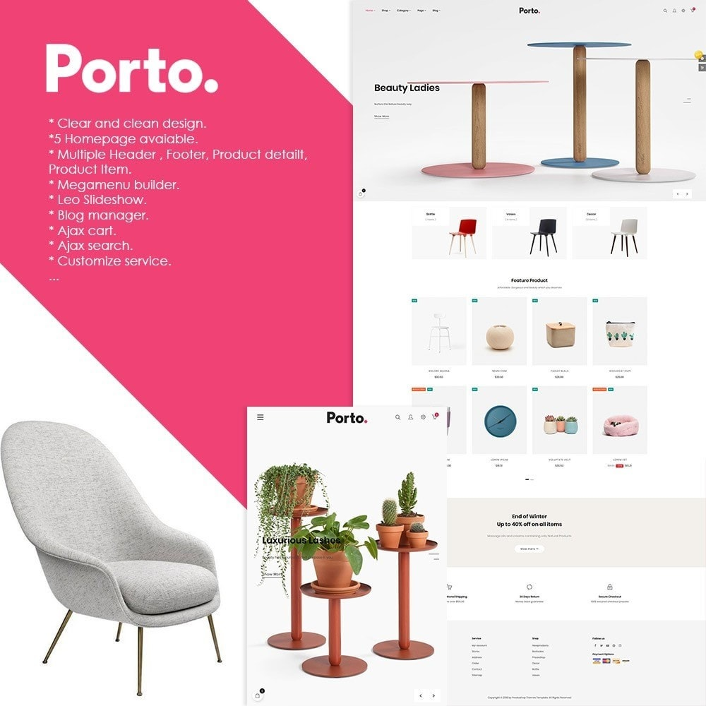 theme - Art & Culture - At Porto - Decor | Furniture | Fashion | Accessories - 1