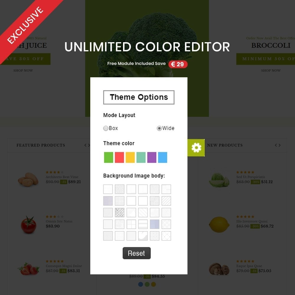 theme - Food & Restaurant - Vegetable – Multipurpose Vegetable Store - 3