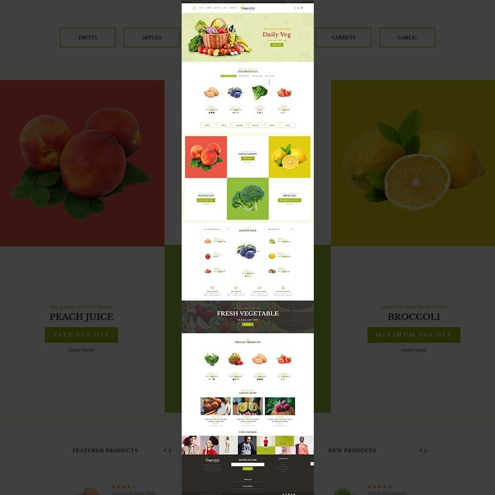 theme - Food & Restaurant - Vegetable – Multipurpose Vegetable Store - 10