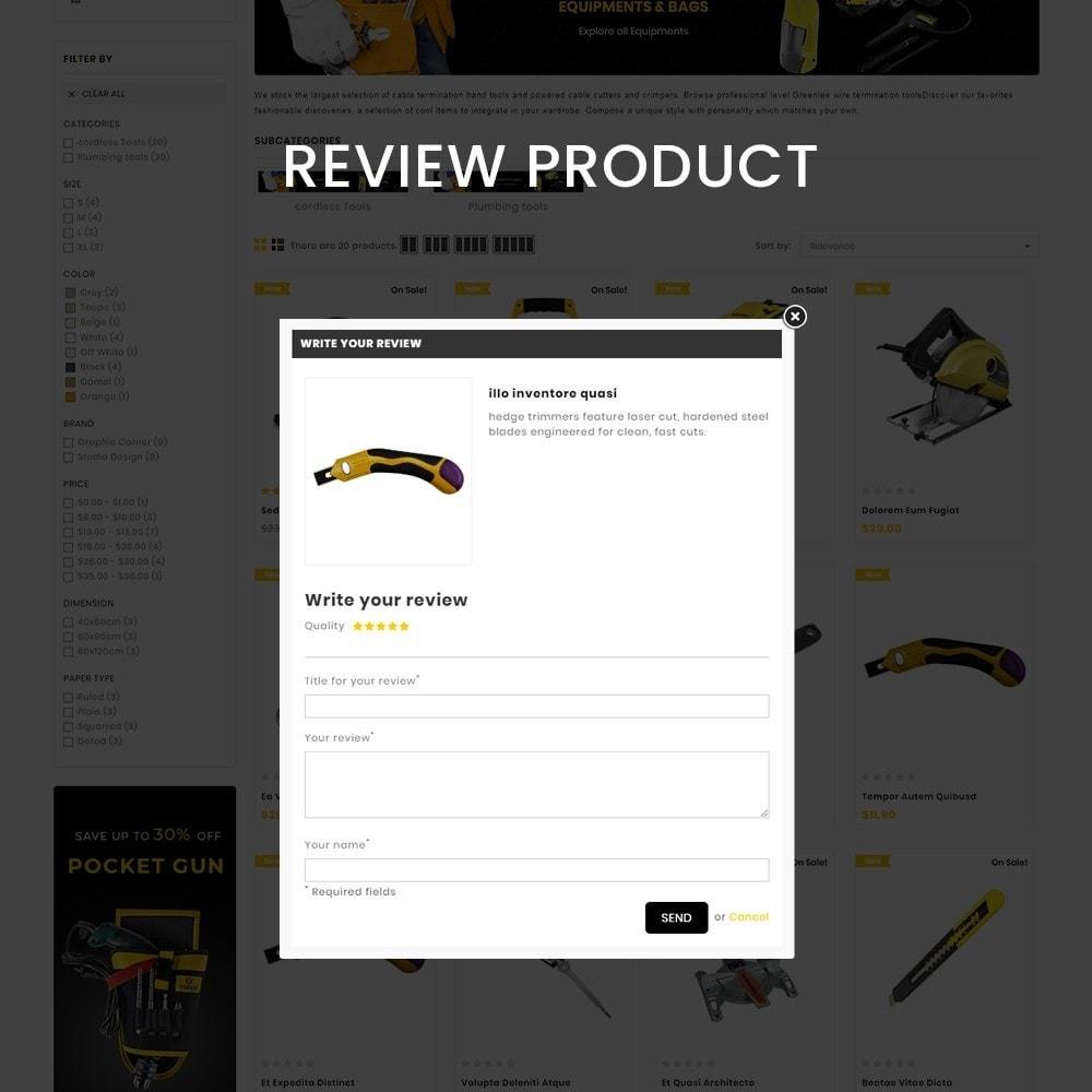 theme - Auto & Moto - Toolscart - Mega Tools Store Template - 7