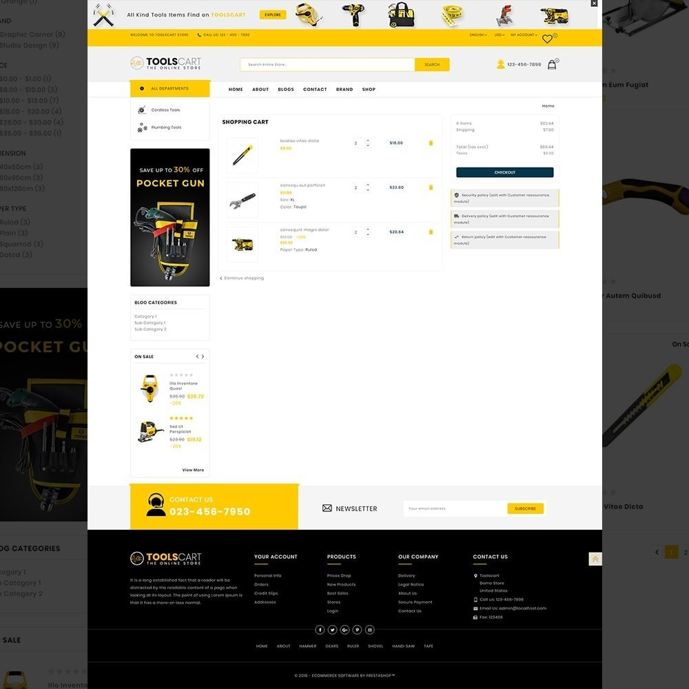 theme - Auto & Moto - Toolscart - Mega Tools Store Template - 12