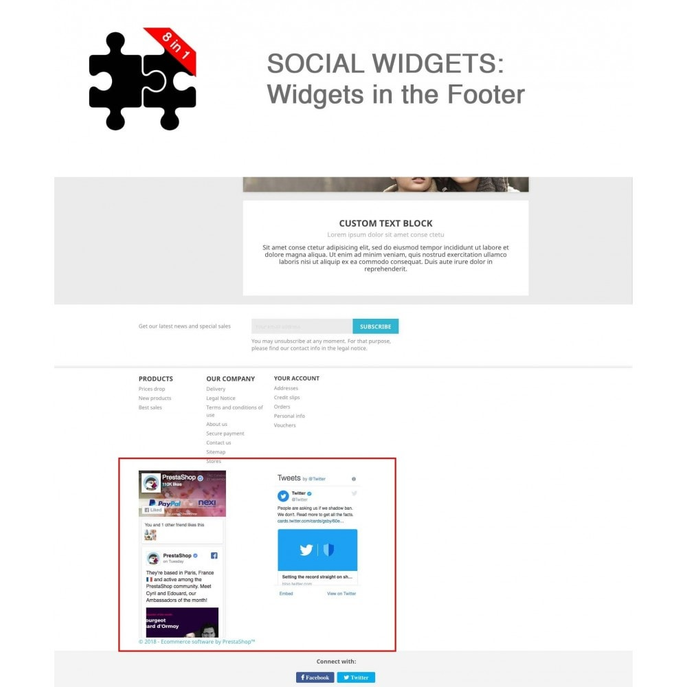module - Compartir contenidos y Comentarios - Social Connects and Plugins + Statistics (8 in 1) - 15