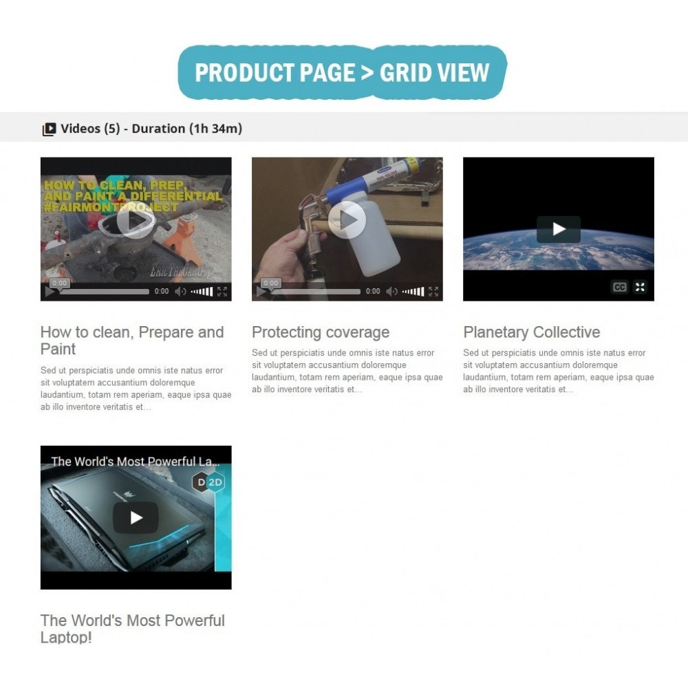 module - Wideo & Muzyka - Wk Responsive Videos Products - 6