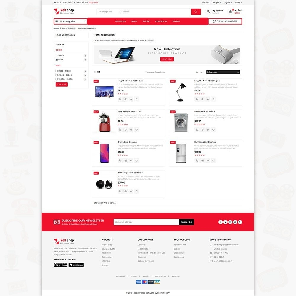 theme - Elettronica & High Tech - VoltShop - The Electronics Store - 4