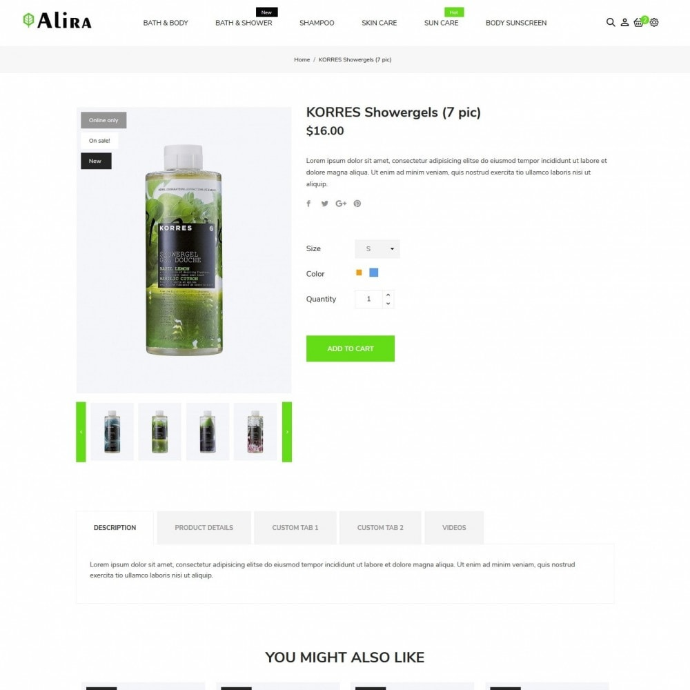 theme - Health & Beauty - Alira Cosmetics - 6