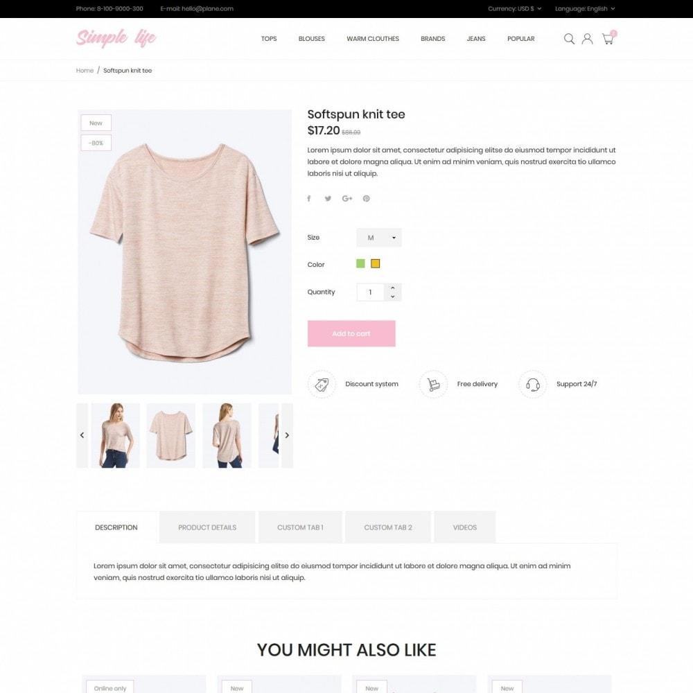 theme - Fashion & Shoes - Simple life Fashion Store - 6