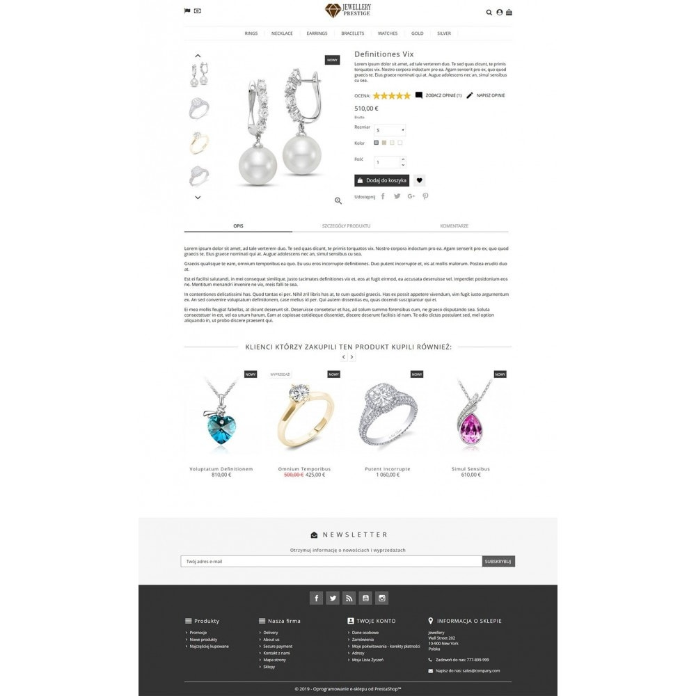 theme - Biżuteria & Akcesoria - Prestige Jewellery - 4