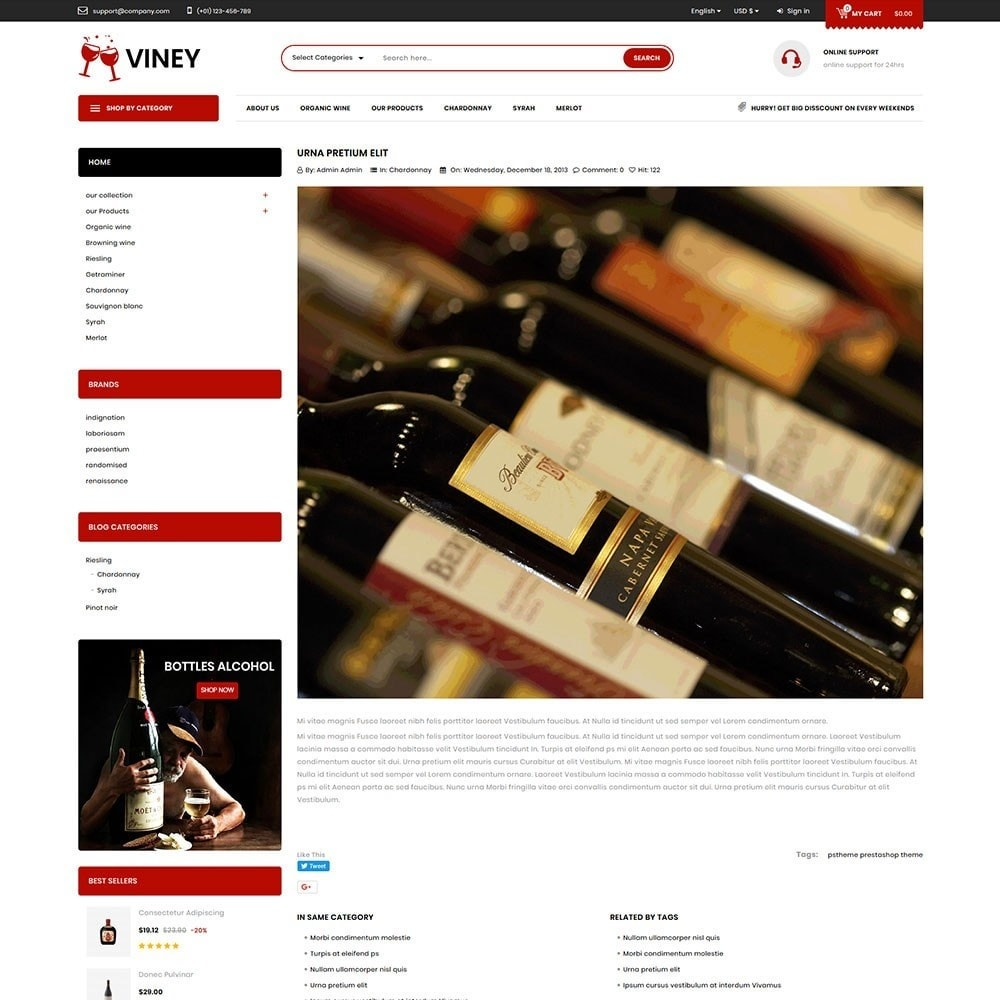 theme - Bebidas y Tabaco - Viney - The Drink Store - 7