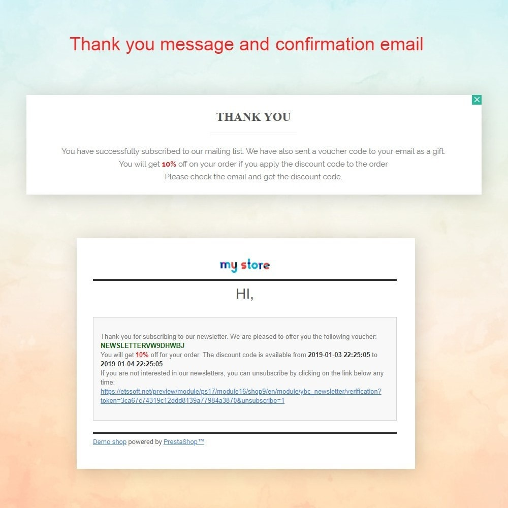 module - Pop-up - Responsive newsletter popup - 5