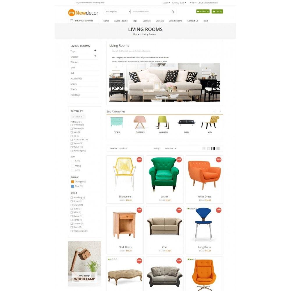 theme - Casa & Jardins - New Decor Furniture - 6