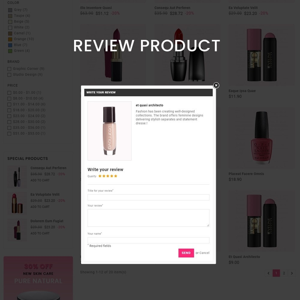 theme - Health & Beauty - Cosmetics– Cosmetics & beauty & health Store - 7