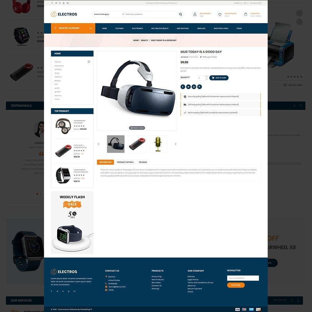theme - Eletrônicos & High Tech - Electros – Multipurpose Electronic Store - 13