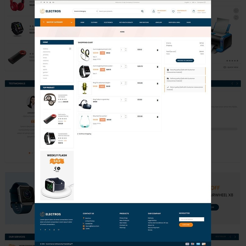 theme - Electronique & High Tech - Electros – Multipurpose Electronic Store - 14
