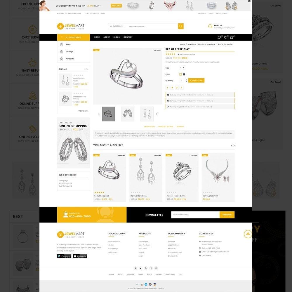 theme - Biżuteria & Akcesoria - Jewelmart– Multipurpose jewellery Store - 14