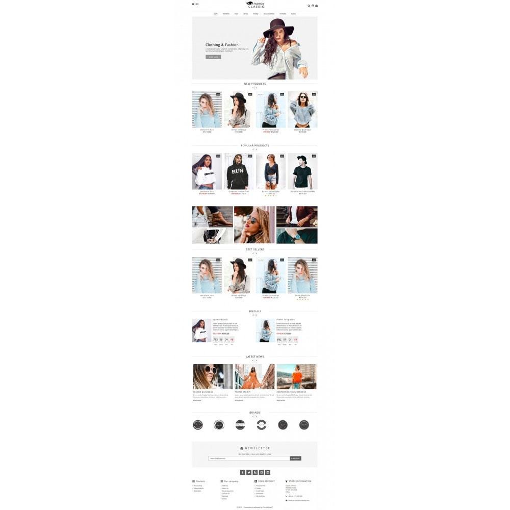 theme - Moda & Calçados - Classic Fashion - 2