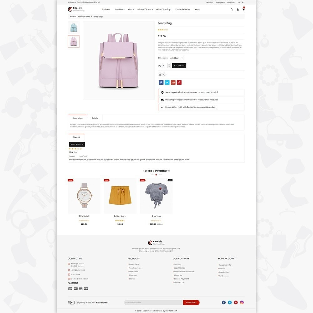 theme - Fashion & Shoes - Choicit  - The Fashion Store - 5