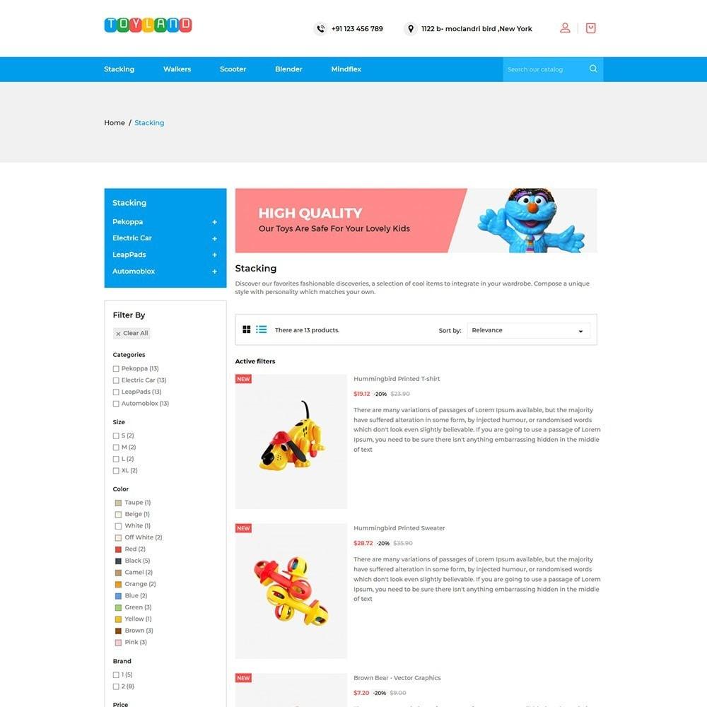 theme - Kids & Toys - Toyland - Toy Kids Store - 4