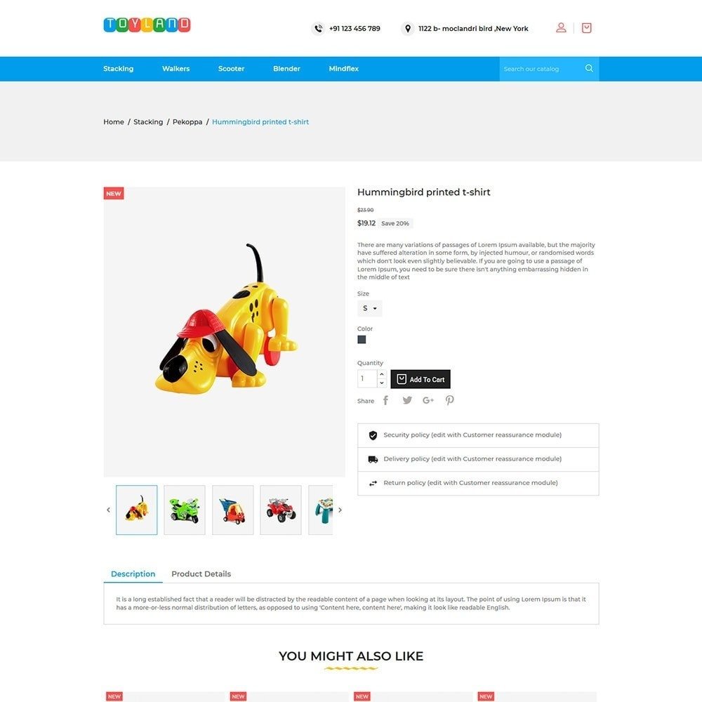 theme - Kids & Toys - Toyland - Toy Kids Store - 5