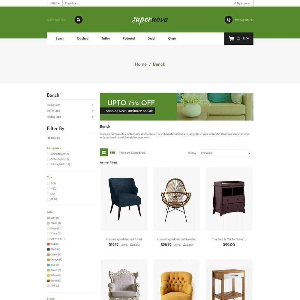 theme - Home & Garden - Super Nova  - Furniture Store - 3