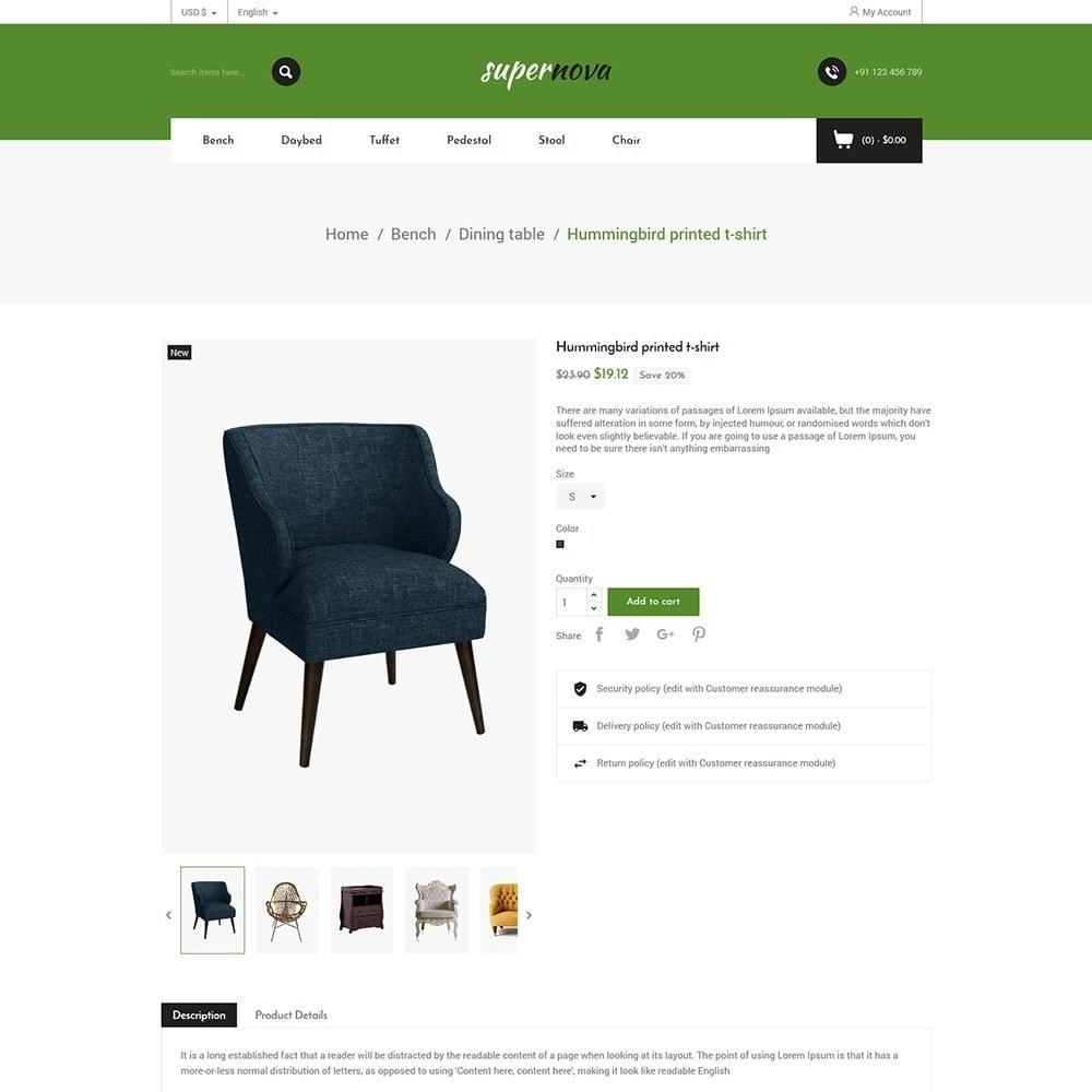 theme - Home & Garden - Super Nova  - Furniture Store - 4