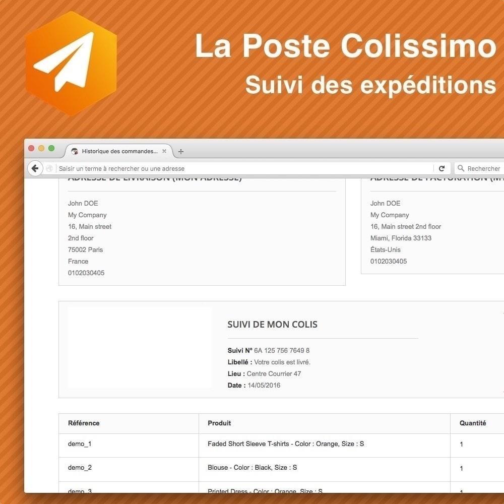 module - Отслеживание заказа - Colissimo Suivi des expéditions - 1