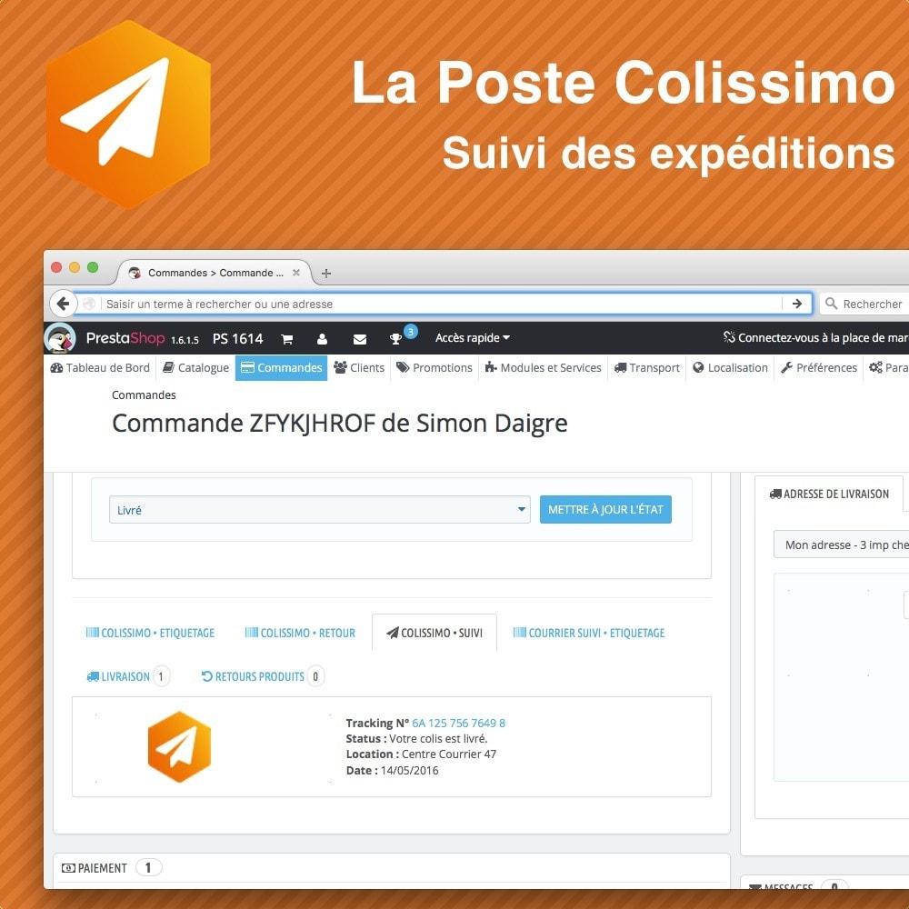 module - Отслеживание заказа - Colissimo Suivi des expéditions - 3