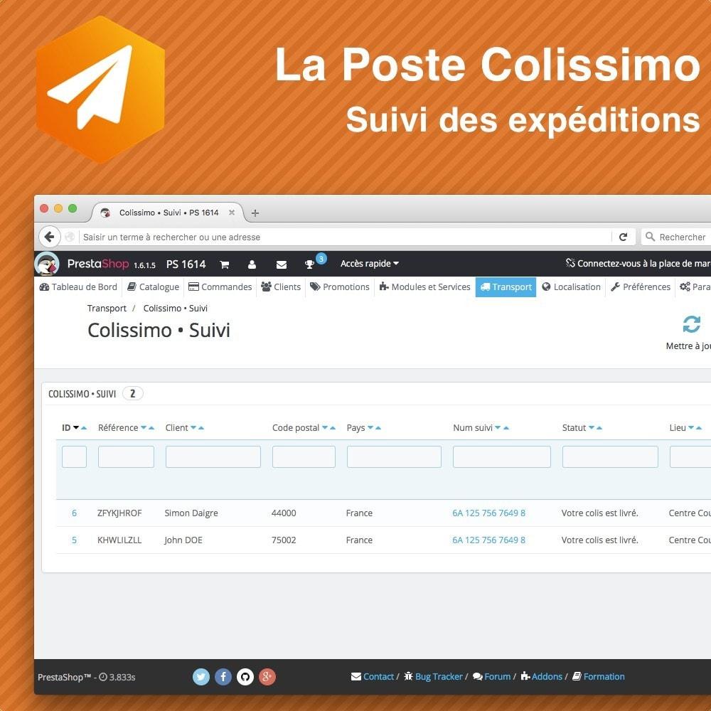 bundle - Rastreamento da entrega - Colissimo Pack affranchissement & suivi - 4