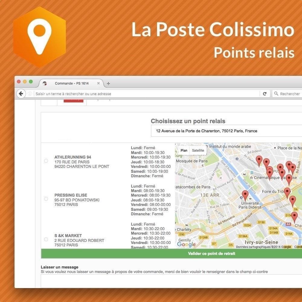 module - Point Relais & Retrait en Magasin - Colissimo Points relais - 1